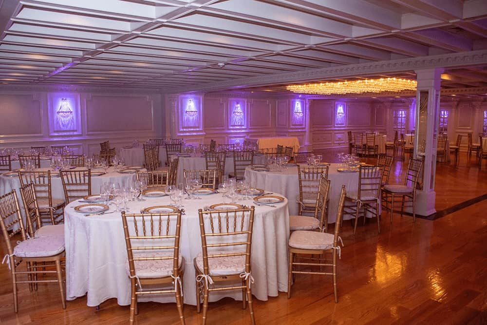 The Belmont and Manchester Rooms for Weddings and Receptions